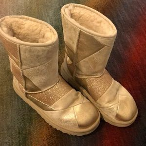 Gold Ugg Boots Limited Edition